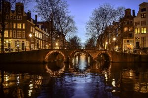 amsterdam, canals, netherlands